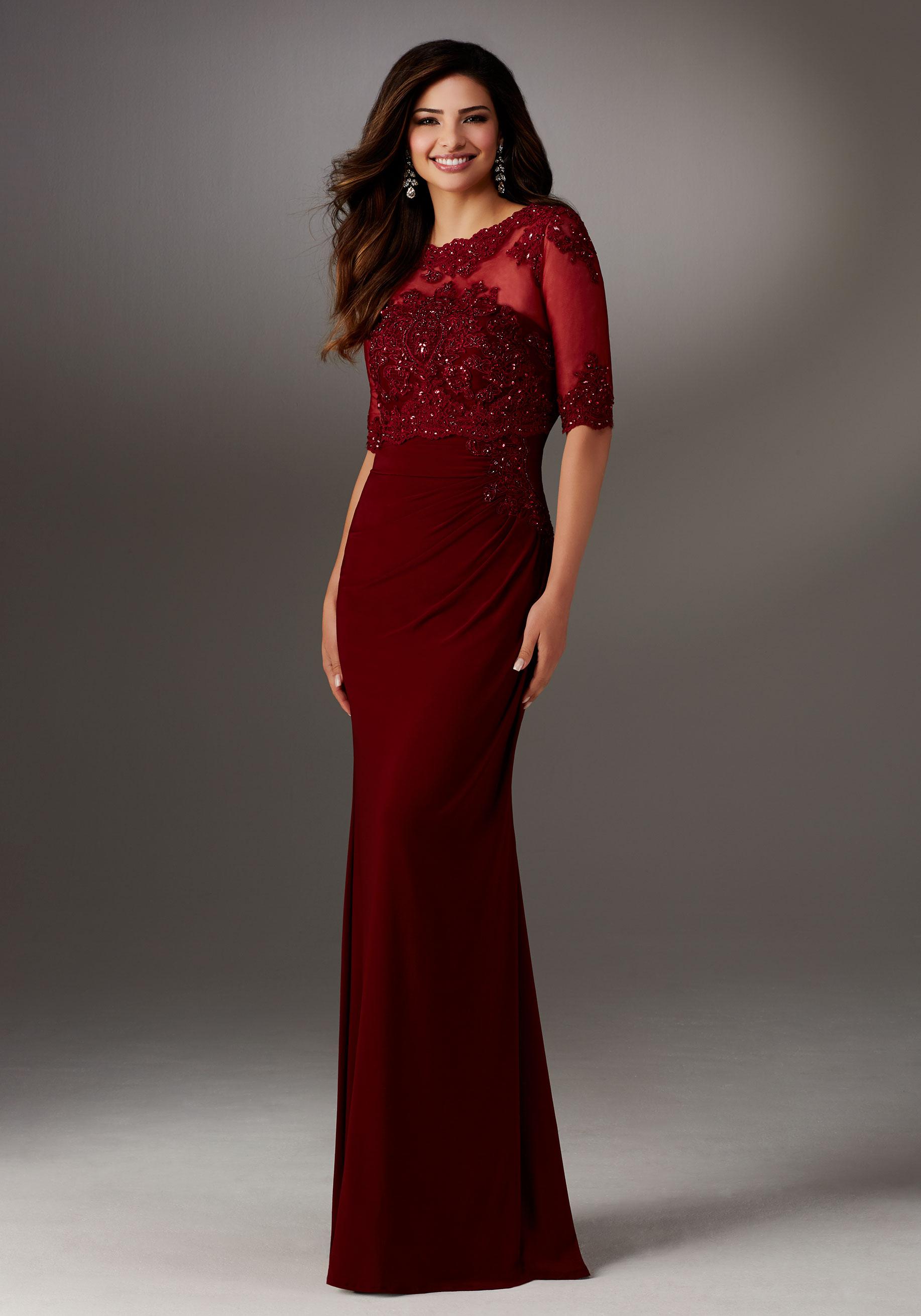 Mori Lee SKU 71510 - VeLace Bridal - Wedding Dresses Bellingham MA