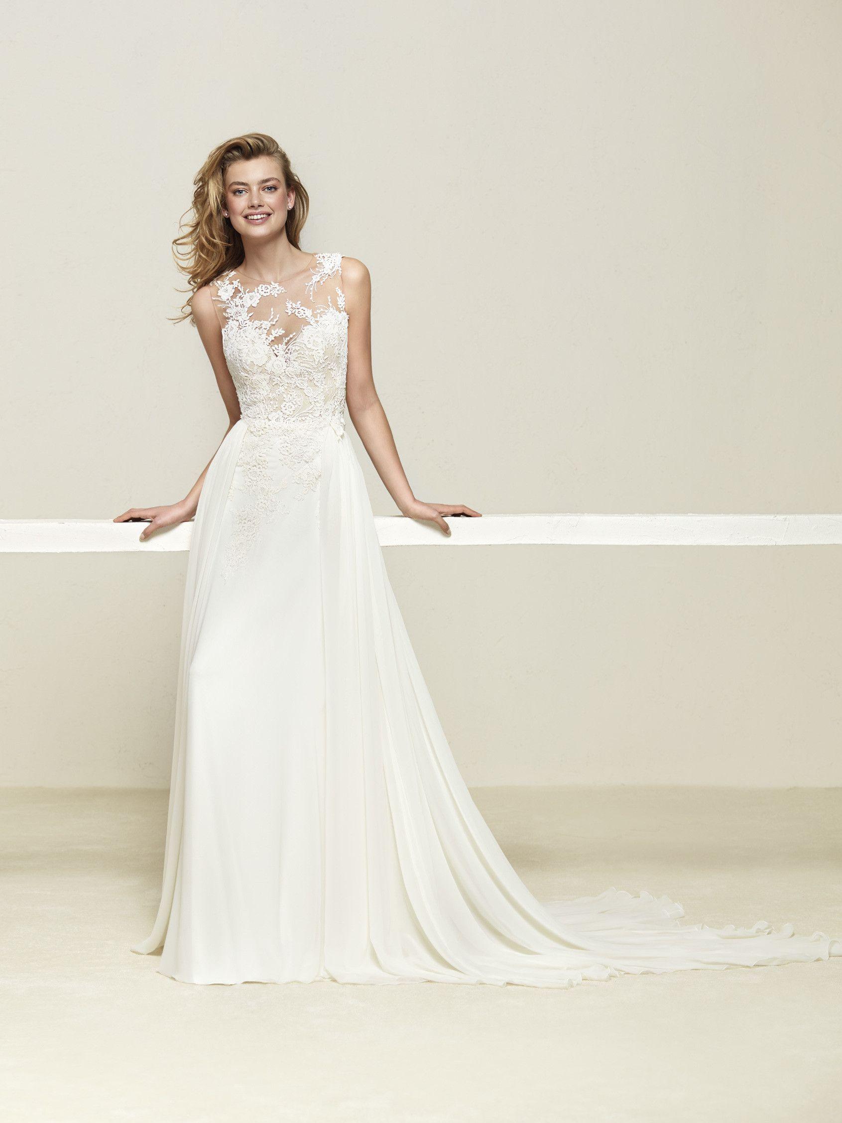 ee2bd07ae34 Designer Pronovias SKU Druelia - VeLace Bridal - Wedding Dresses ...