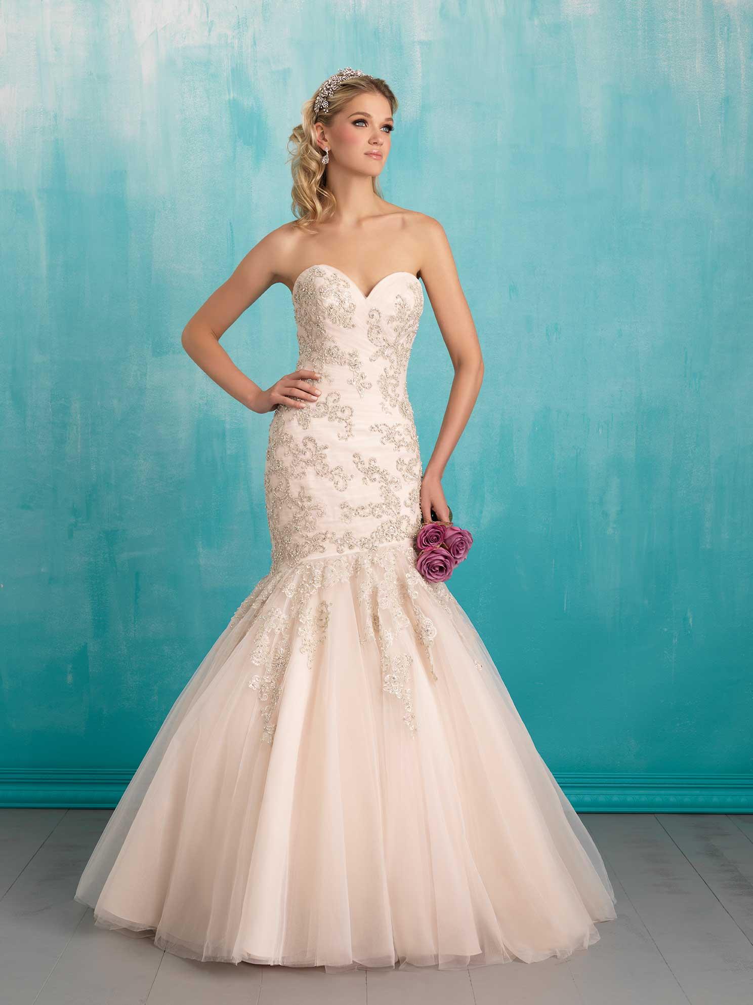 48e85f1dbb84 Designer Allure Bridals SKU 9300 - VeLace Bridal - Wedding Dresses ...
