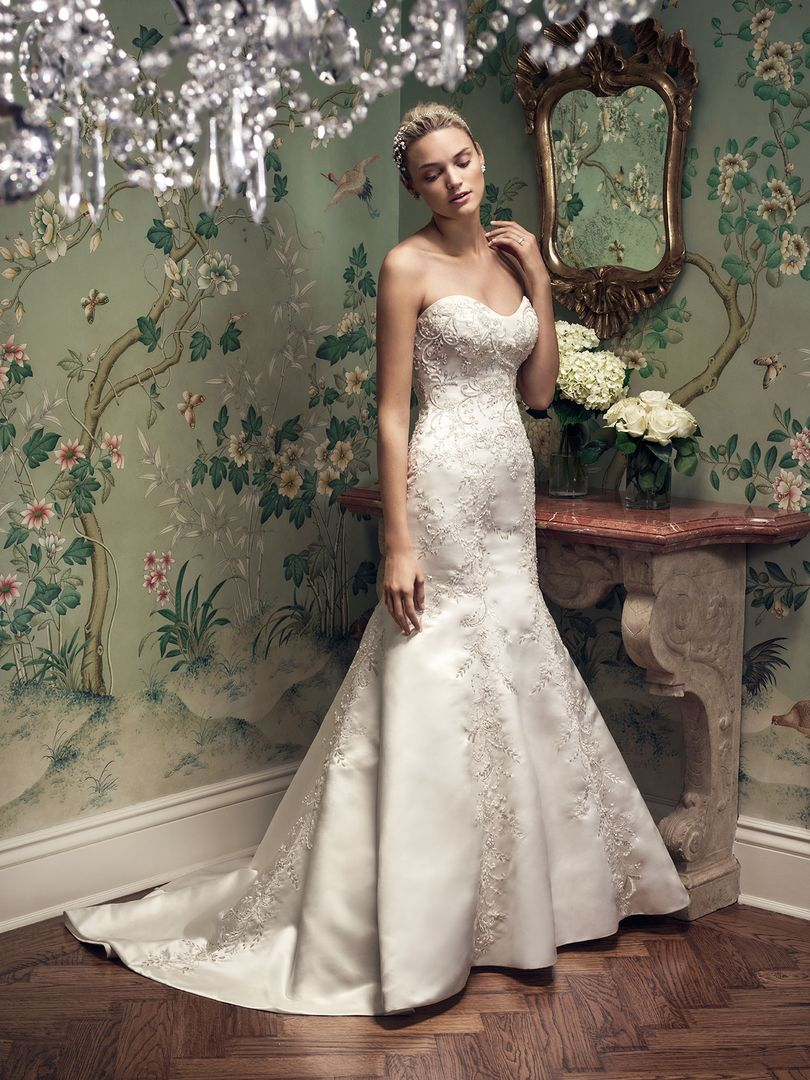 Designer Casablanca Bridal Sku 2207 Velace Bridal Wedding