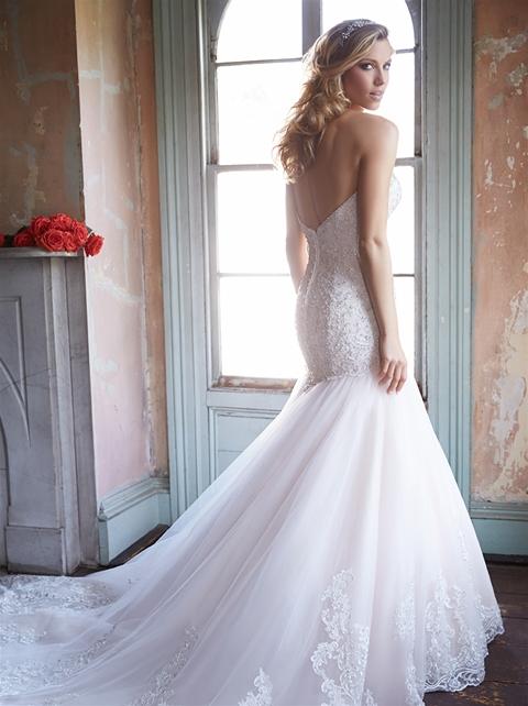 Allure Wedding Dresses.Allure Bridals Sku 9325