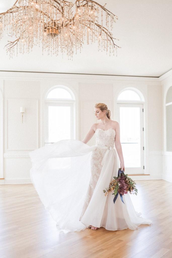 Styled For Spring Velace Bridal Wedding Dresses